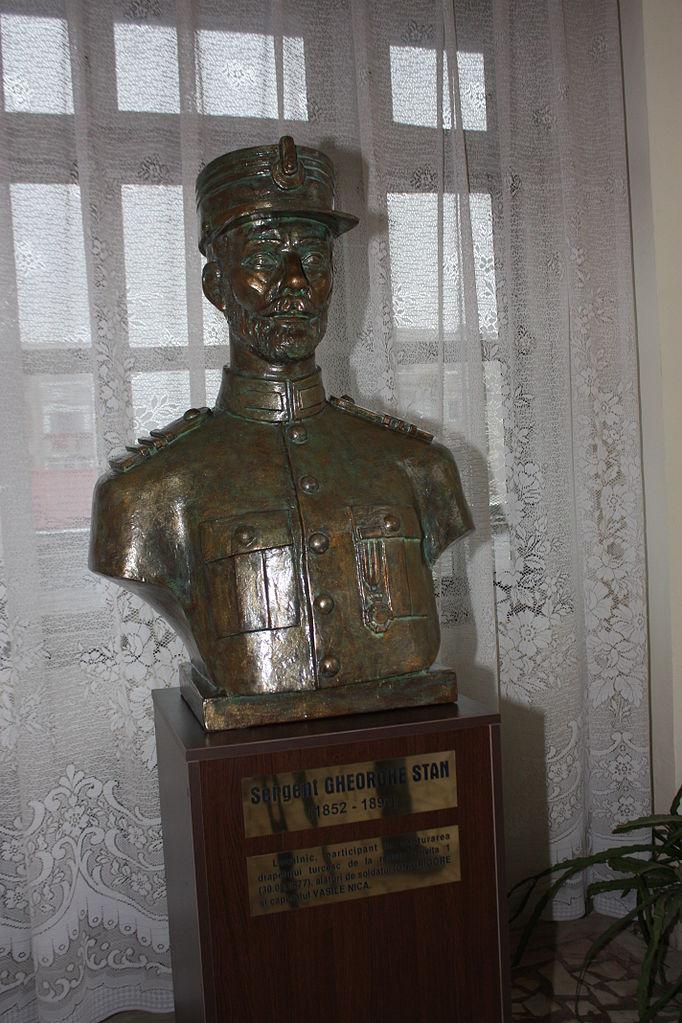 Bust Statuar Sergentul Gheorghe Stan